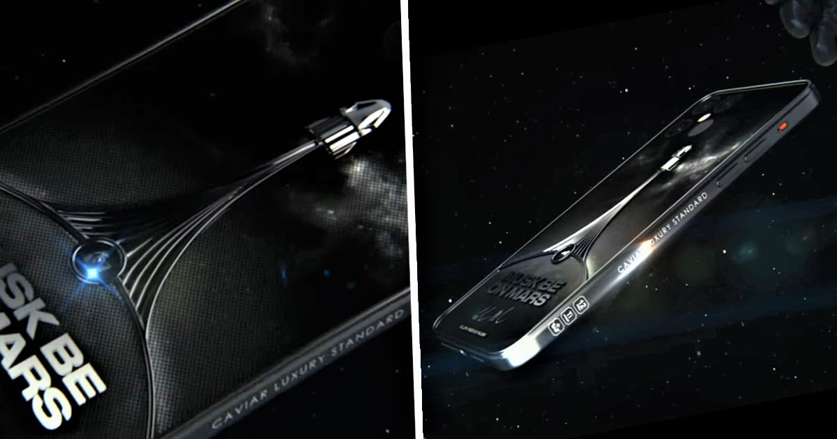 Limited Edition SpaceX iPhone 12 Pro Costs Eye-Watering $5,000