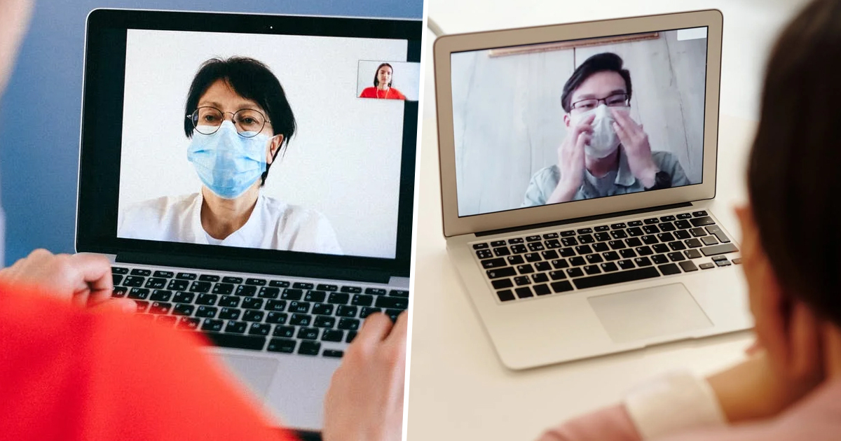 Employees Told To Wear Face Masks On Zoom Calls, Even When Home Alone