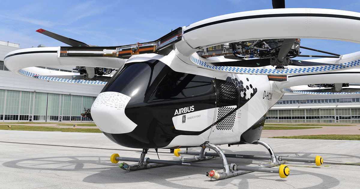 Airbus' Futuristic Flying Taxi Just Took Its First Public Flight