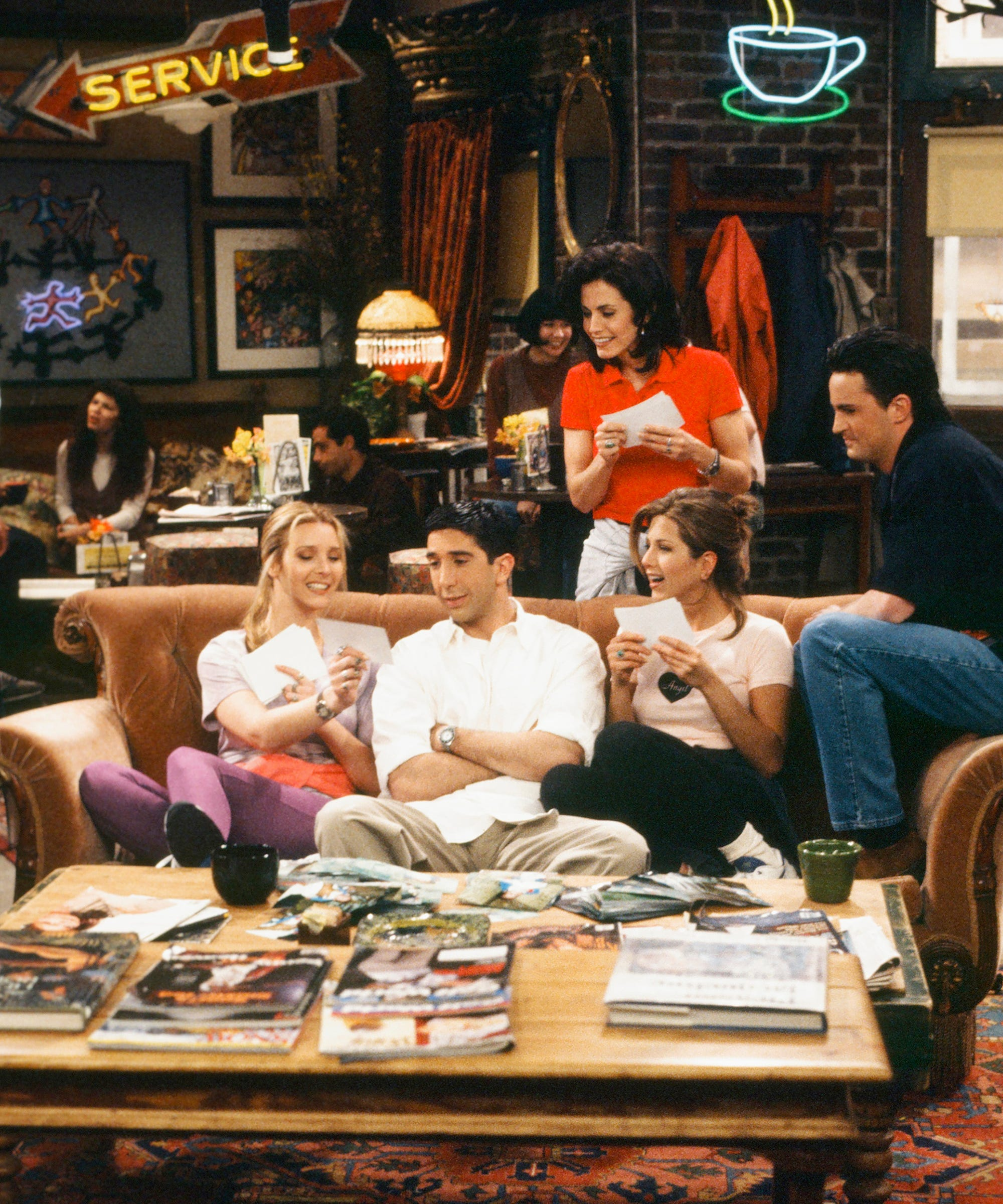 You Can Now Buy Your Very Own Friends Sofa