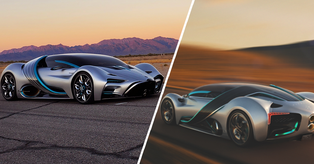 Hydrogen-Powered Hypercar Goes From 0 To 60mph In 2.2 Seconds Hyperion Motors