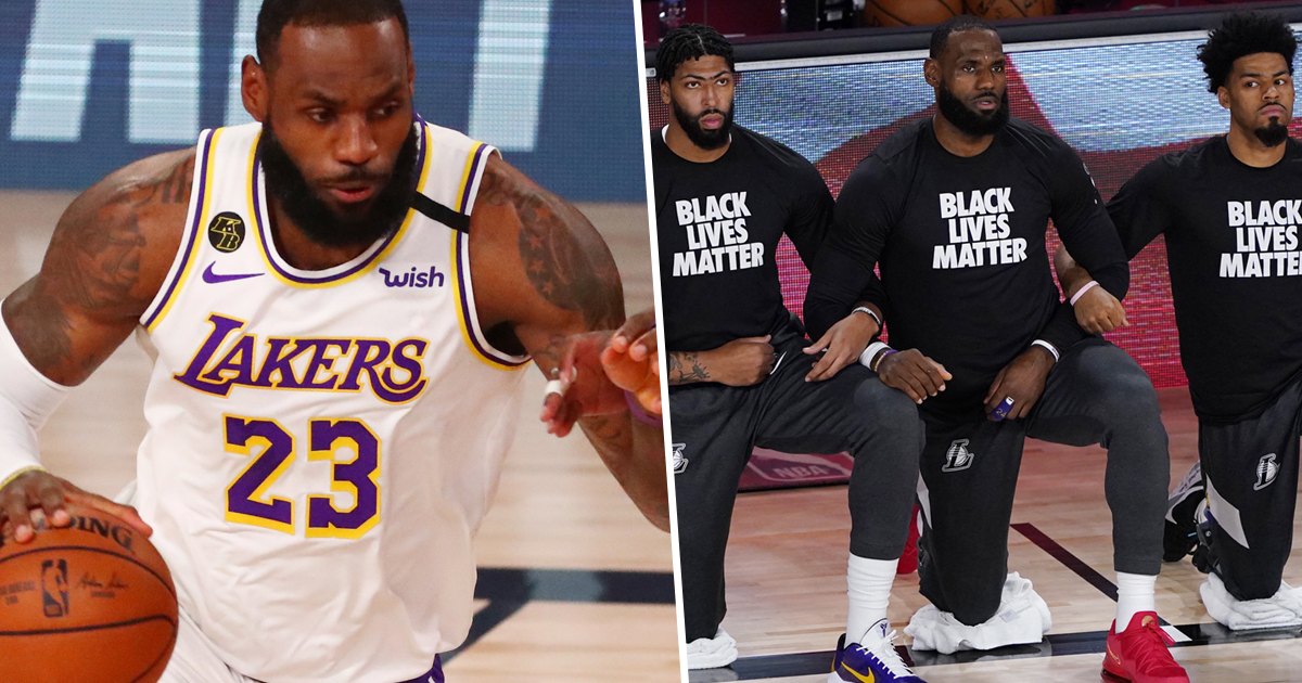 LeBron James Says He 'Could Care Less' If Trump Doesn't Watch NBA Anymore