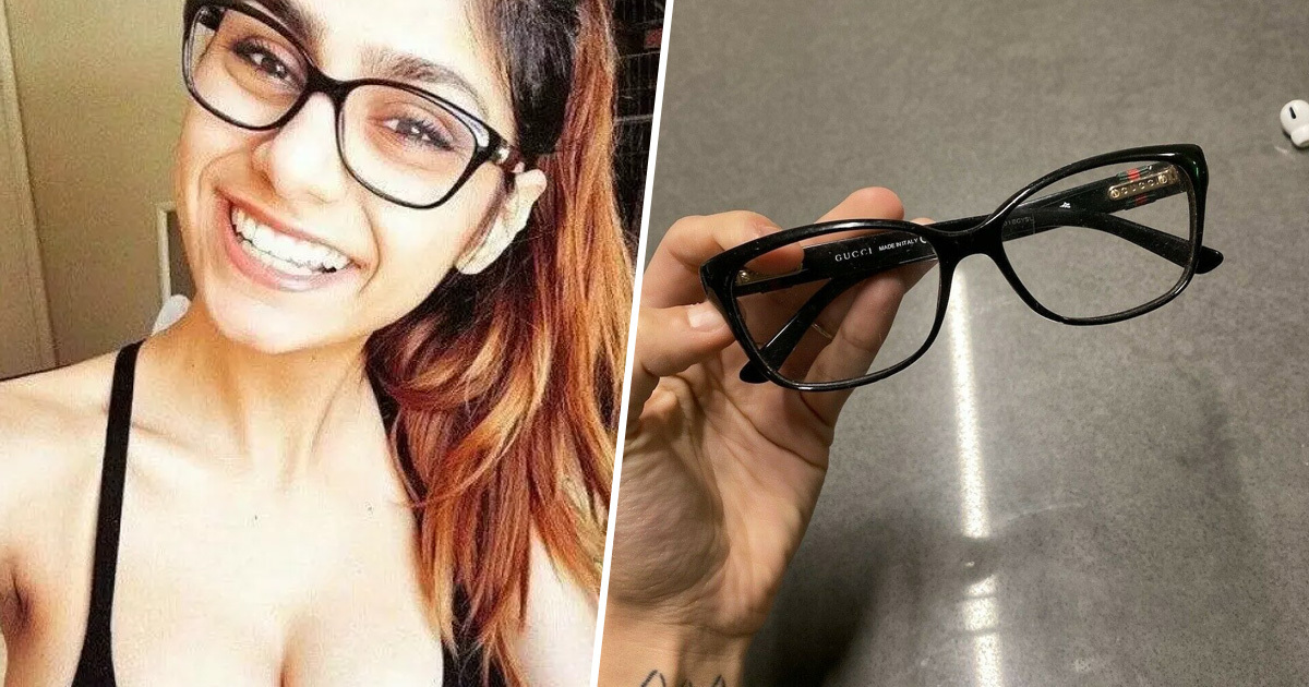 Mia Khalifa Is Auctioning Off Her Glasses To Raise Money For Beruit Victims