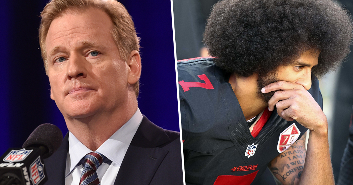 NFL Commissioner Roger Goodell Says He Wished He'd 'Listened Earlier' To Colin Kaepernick