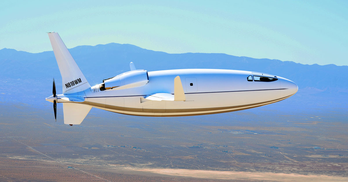 Six-Person Bullet Plane Can Reach Speeds Of More Than 460mph