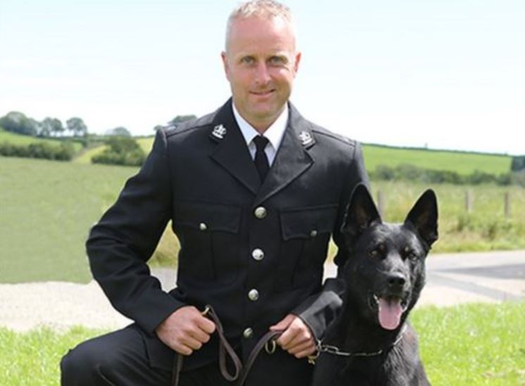 police dog saves mother and baby on first shift