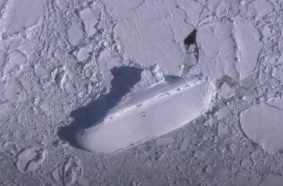 YouTuber finds ice ship in Antarctica