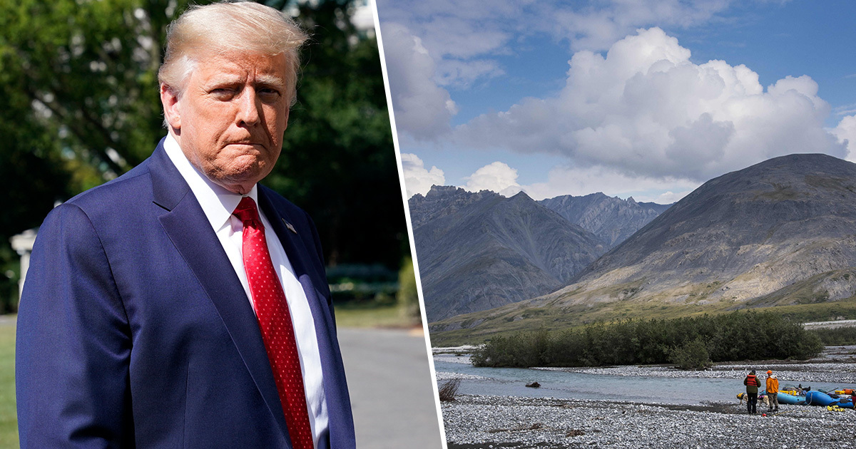 The Trump administration has announced plans to allow oil and gas drilling in the Arctic National Wildlife Refuge for the first time.