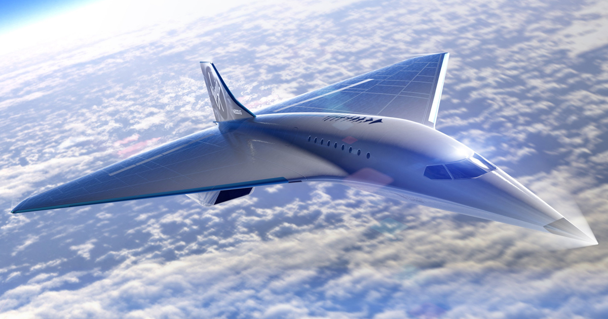 Virgin Galactic And Rolls-Royce Teaming Up For 2,300 Mph Supersonic Jet