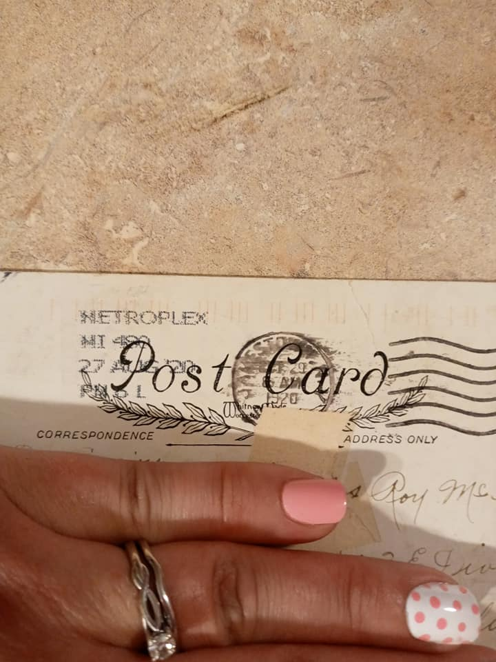 100 years old postcard
