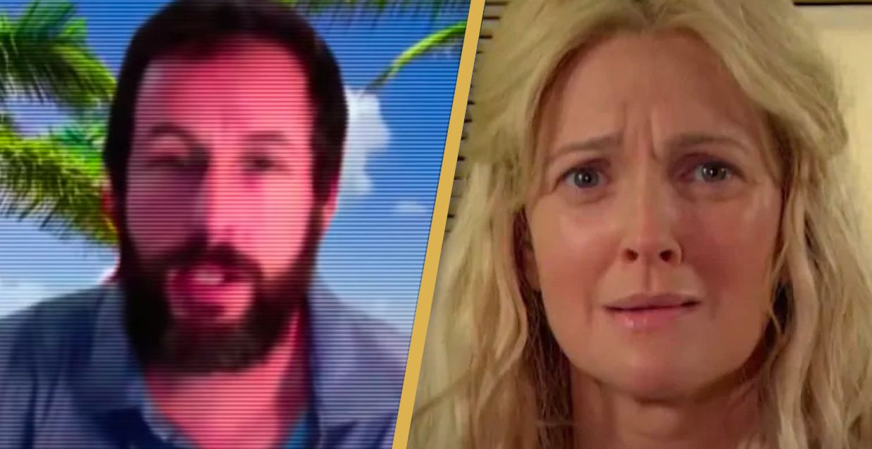 Adam Sandler and Drew Barrymore Parody 50 First Dates In Hilarious Sequel Skit