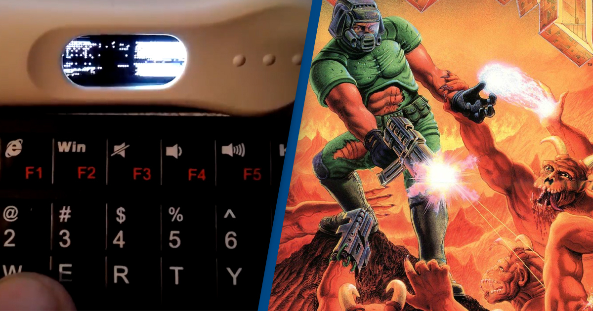 Guy Makes Playable Version Of Doom On Pregnancy Test
