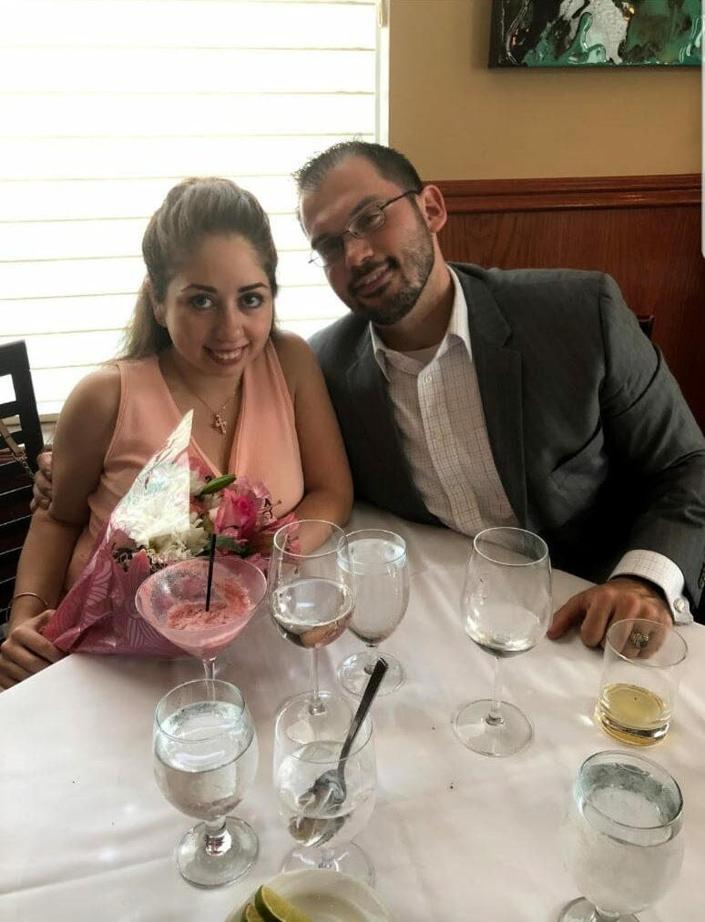Kyle and wife