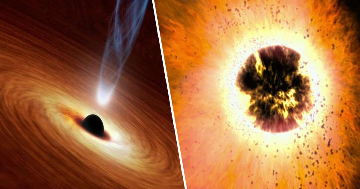 'Alien' Black Hole Bigger Than Any Before Sends Wave Through Universe