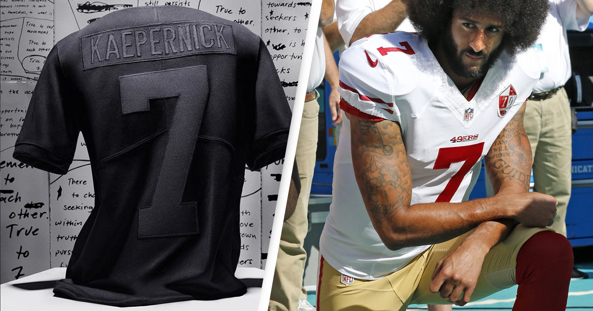 Replica Colin Kaepernick Jersey Marks Four Years Since He Took A Knee 1