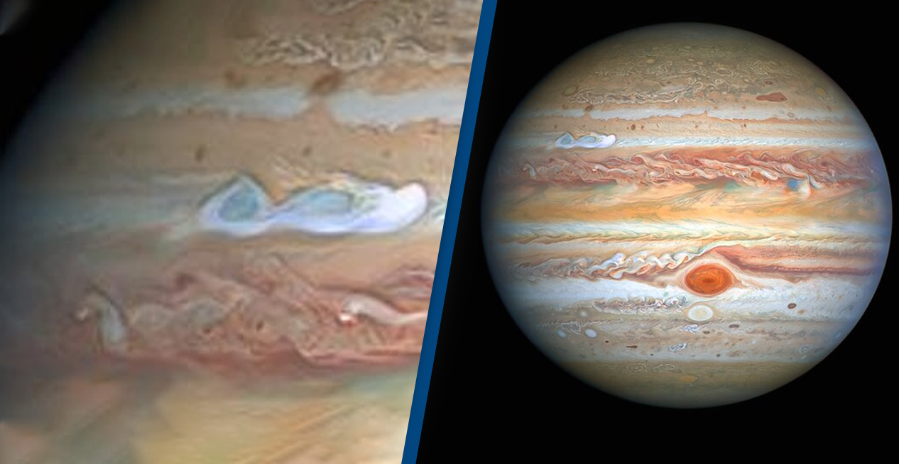 Stunning Photos Show A New 'Red Spot' Is Developing On Jupiter 1