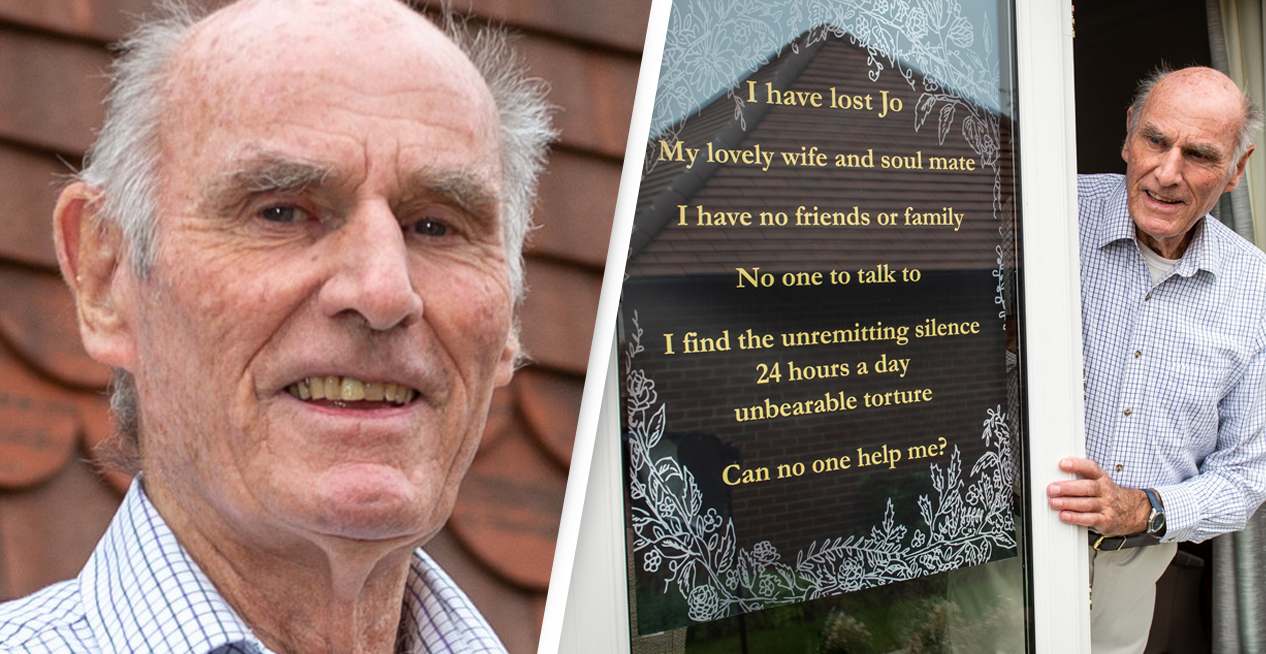 Tony Williams Man Who Asked For Friends After Wife Died Receives Thousands Of Responses