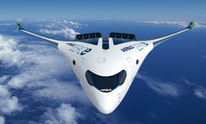 Airbus Blended-Wing Body design