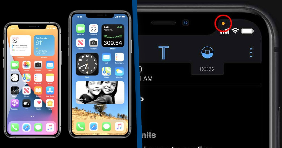 Apple iOS 14 Shows An Orange Dot If An App Is Listening To You