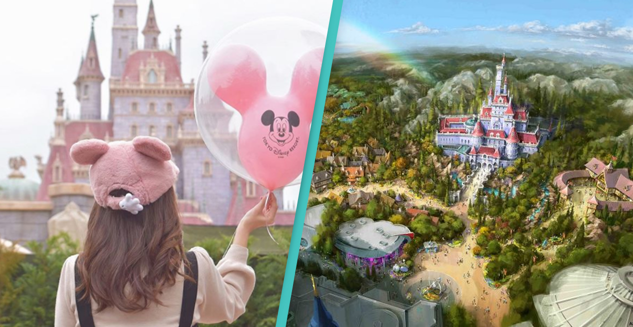 Disneyland Tokyo's Beauty And The Beast Land Opens Today