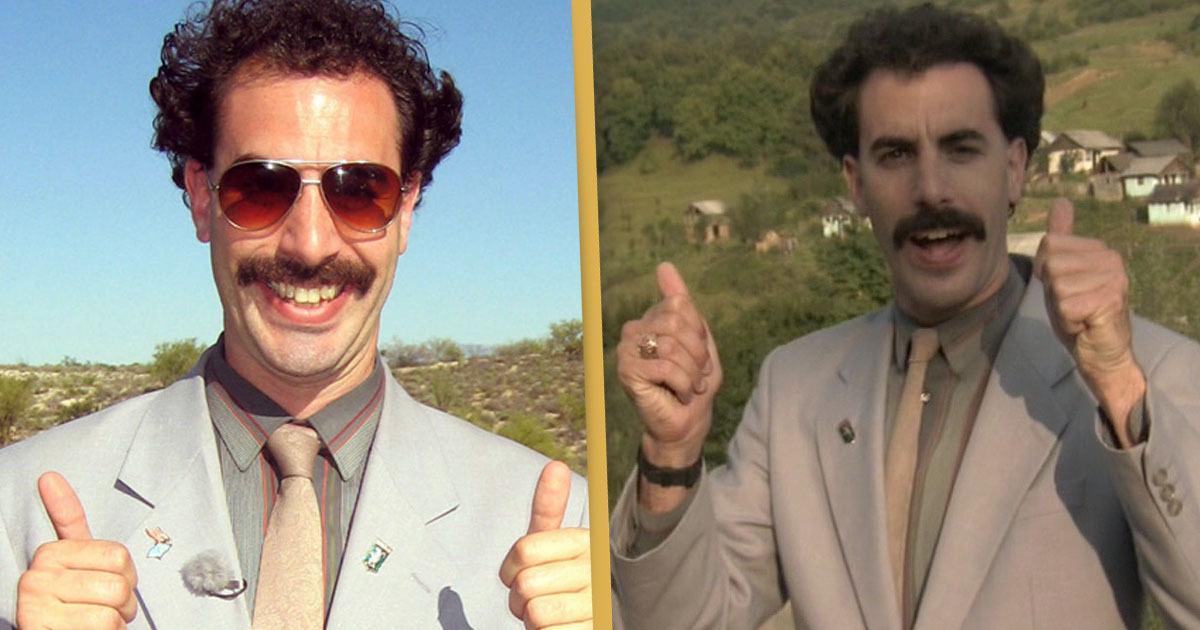 Borat 2 Has Been Completed By Sacha Baron Cohen
