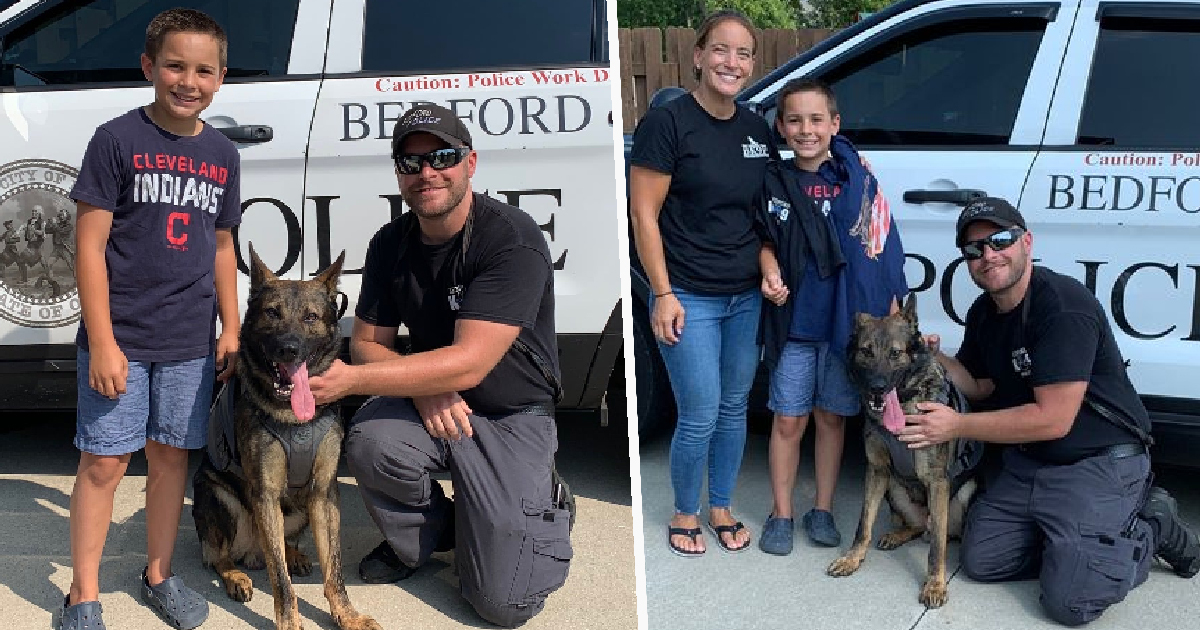 Boy, 10, Raises More Than $315,000 To Provide Bulletproof Vests For Police Dogs