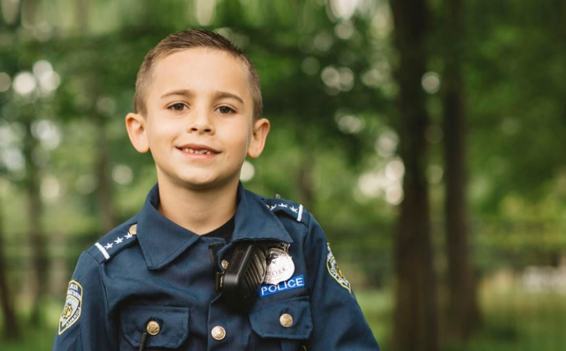 boy raises money for bulletproof vests for police dogs