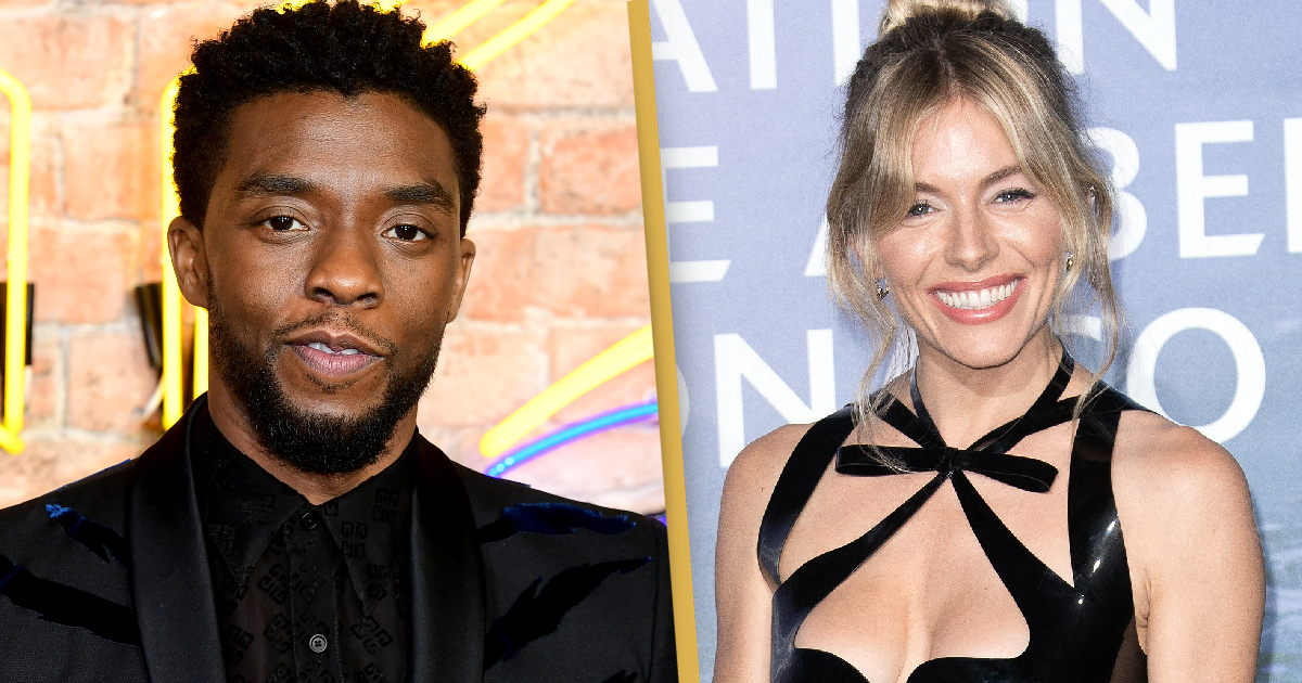 Chadwick Boseman Used His Salary To Pay Sienna Miller More Money When Studio Refused