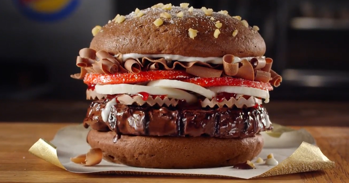 Burger King Is Testing A Chocolate Whopper