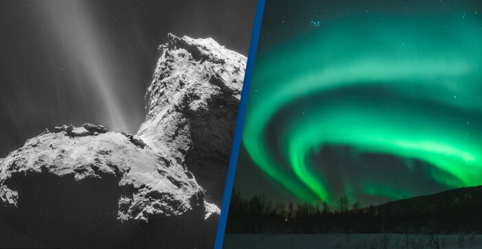 Scientists Discover Comets Have Their Own Northern Lights