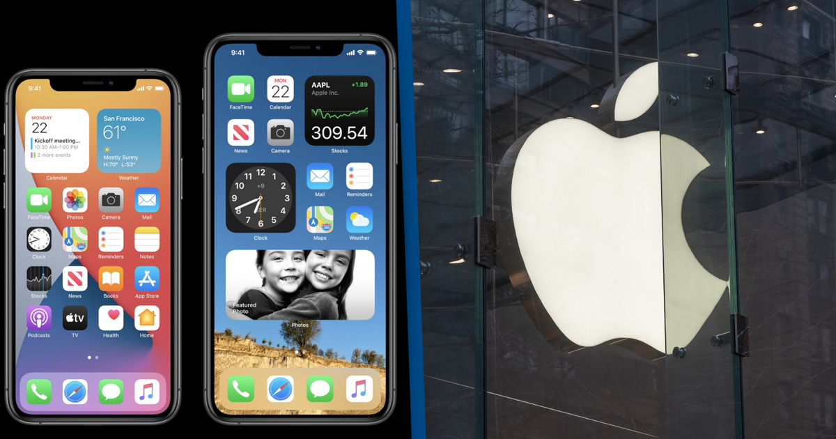 ios 14 and apple store
