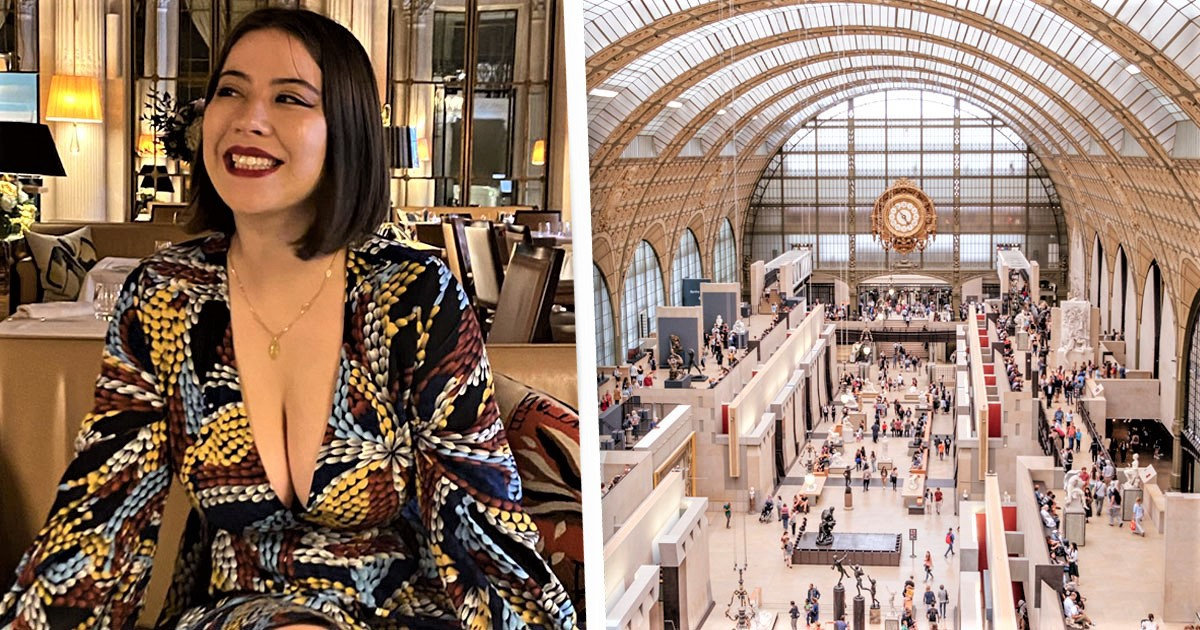 Musée d'Orsay Apologises For Turning Away Woman In Low-Cut Dress