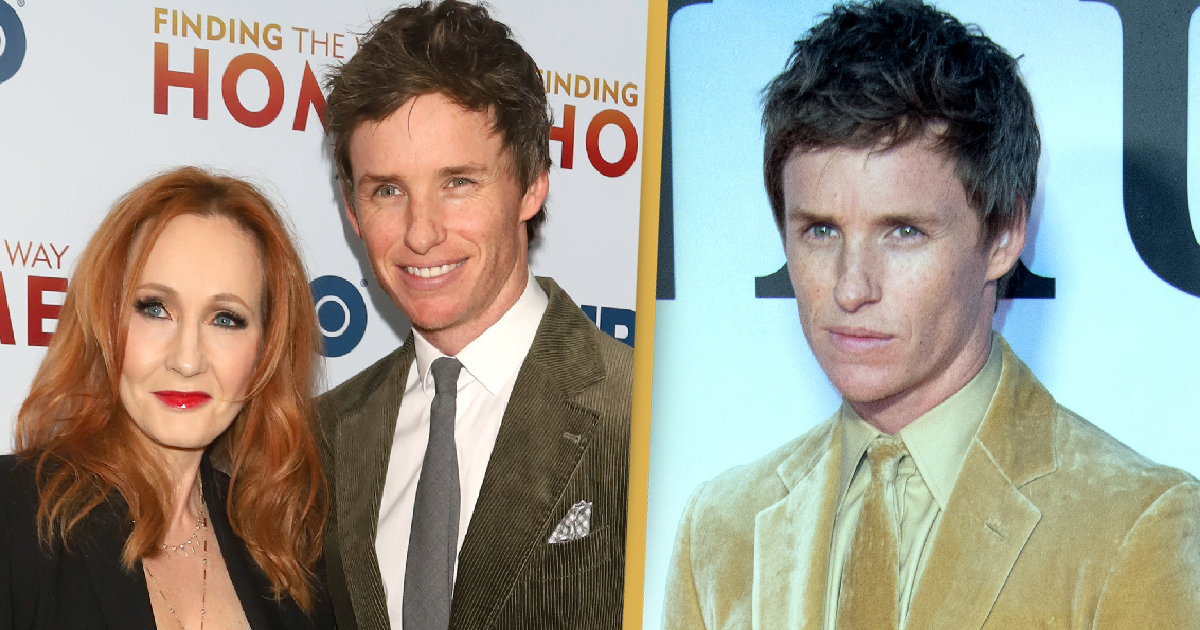 Fantastic Beasts Star Eddie Redmayne Defends JK Rowling From Online 'Vitriol'