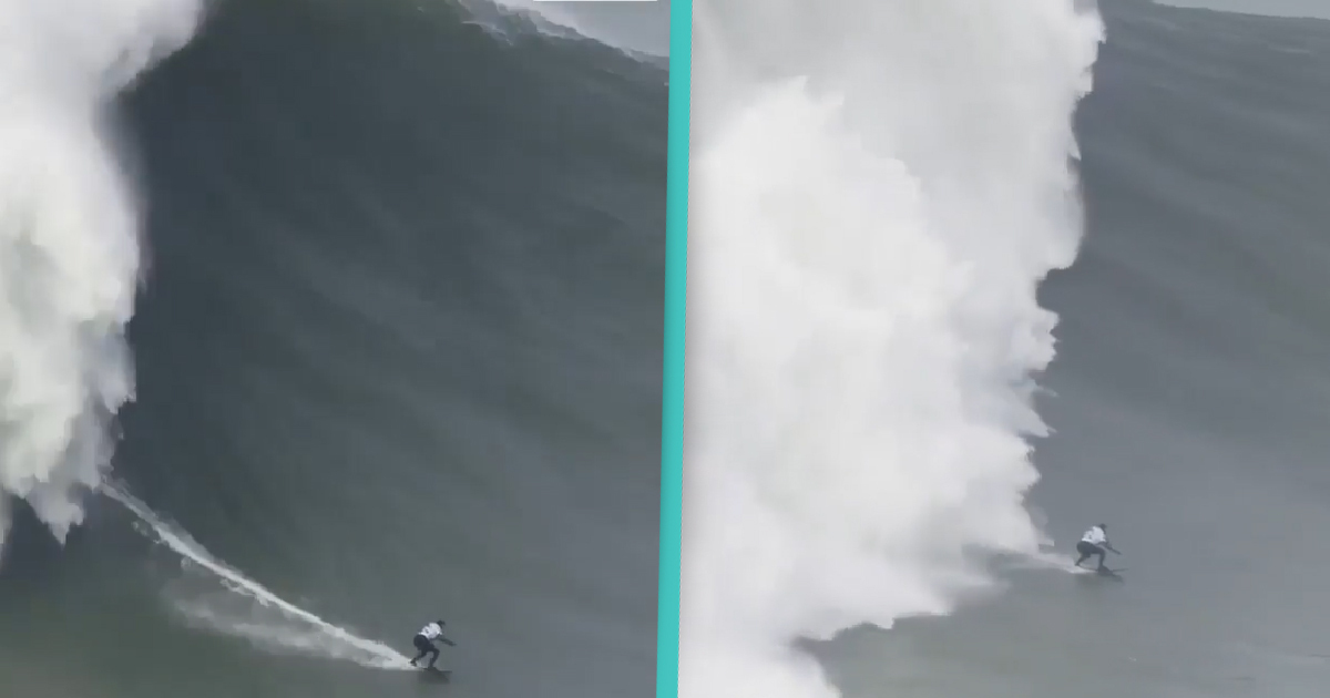 Brazilian Surfer Breaks World Record For Largest Wave Ever Surfed By A Woman