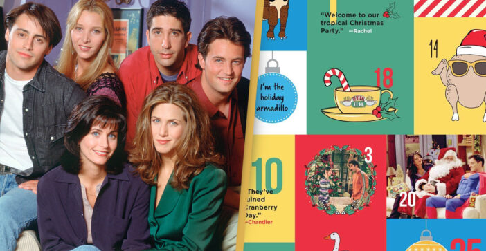 You Can Get A Friends Advent Calendar With 25 Keepsakes From The Show