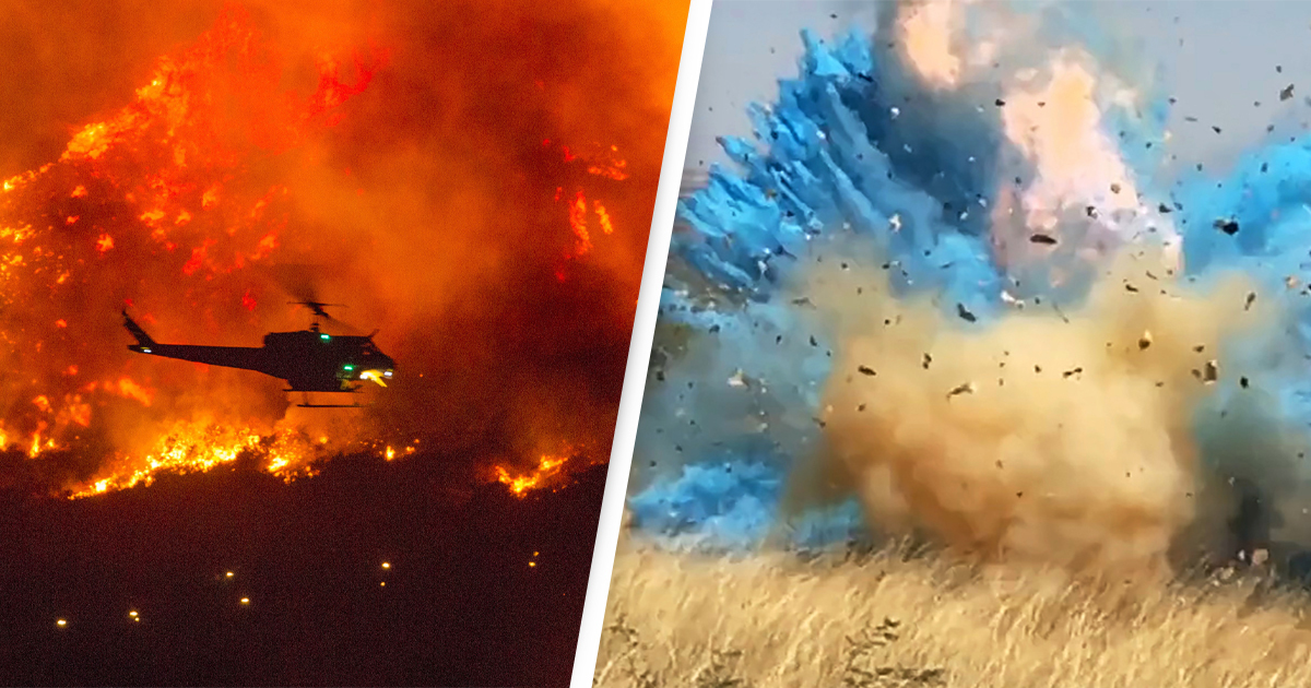 California Wildfire Not The First To Be Caused By Gender Reveal Party
