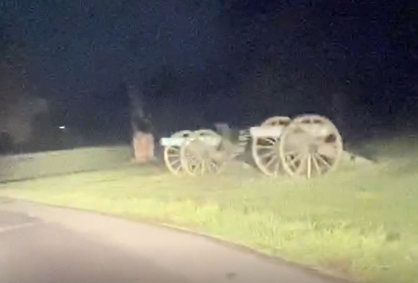 ghost spotted at war site