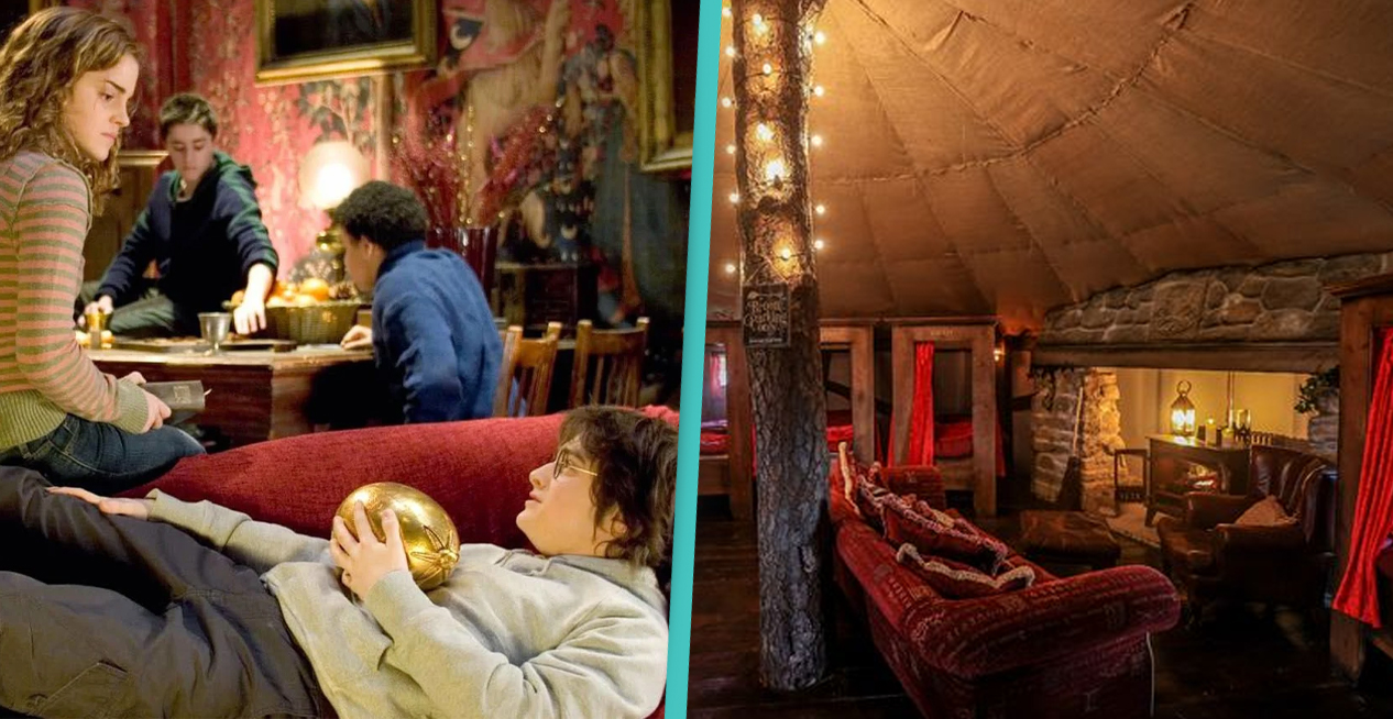 Harry Potter Fans Can Stay In Cottage Just Like Gryffindor Common Room