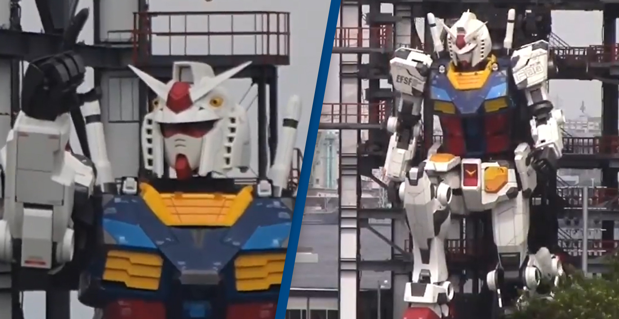 Giant 60-Foot Japanese Robot Can Now Move Around On Its Own
