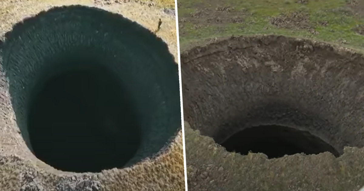 Massive 165ft Deep Hole Accidentally Discovered By Camera Crew