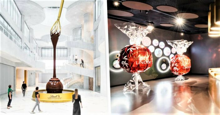 Lindt To Open Willy Wonka-Style Chocolate Tour And Museum
