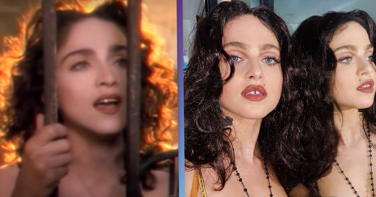 13 Reasons Why's Anne Winters Is Madonna's Doppelgänger In Uncanny Biopic Casting Photos