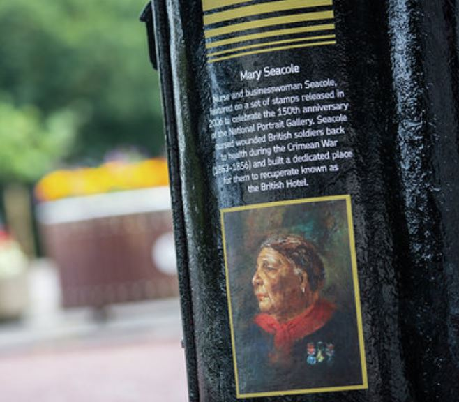Mary Seacole postbox