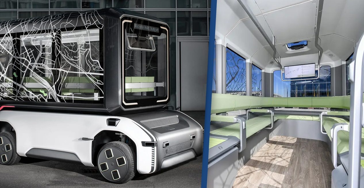 Engineers Develop Vehicle That Can Change From A Bus To A Cargo Van