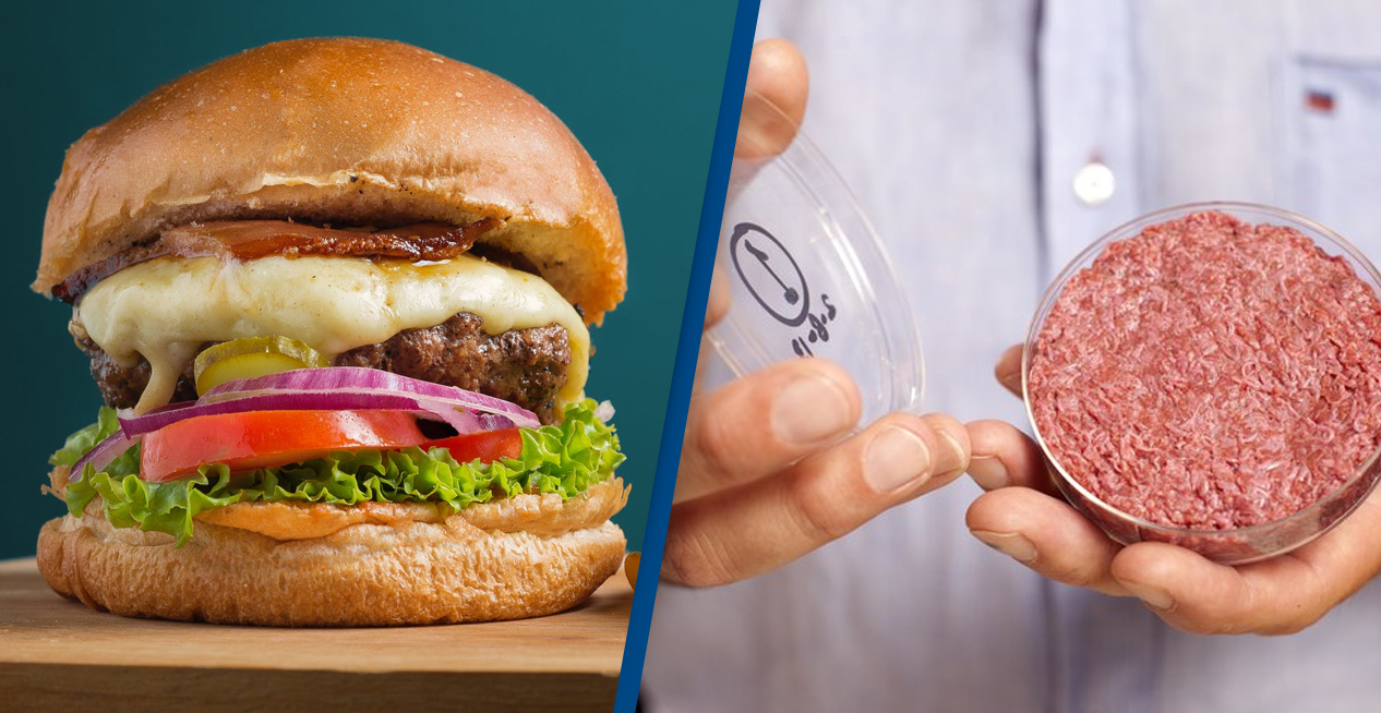 Company Secures $55 Million To Grow Meat Burgers In Labs