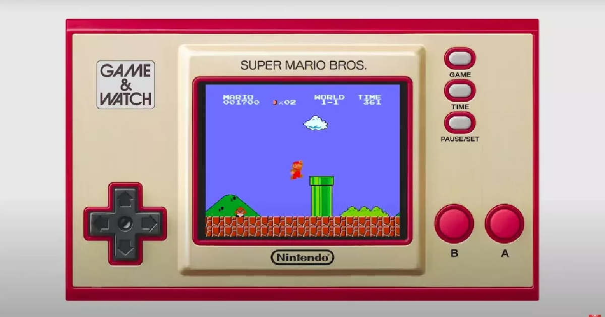 Nintendo Launches Retro Super Mario Bros. Game And Watch Device
