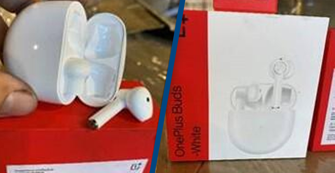 Customs Seize $398K Worth Of 'Counterfeit' Airpods, Turn Out To Be OnePlus Buds