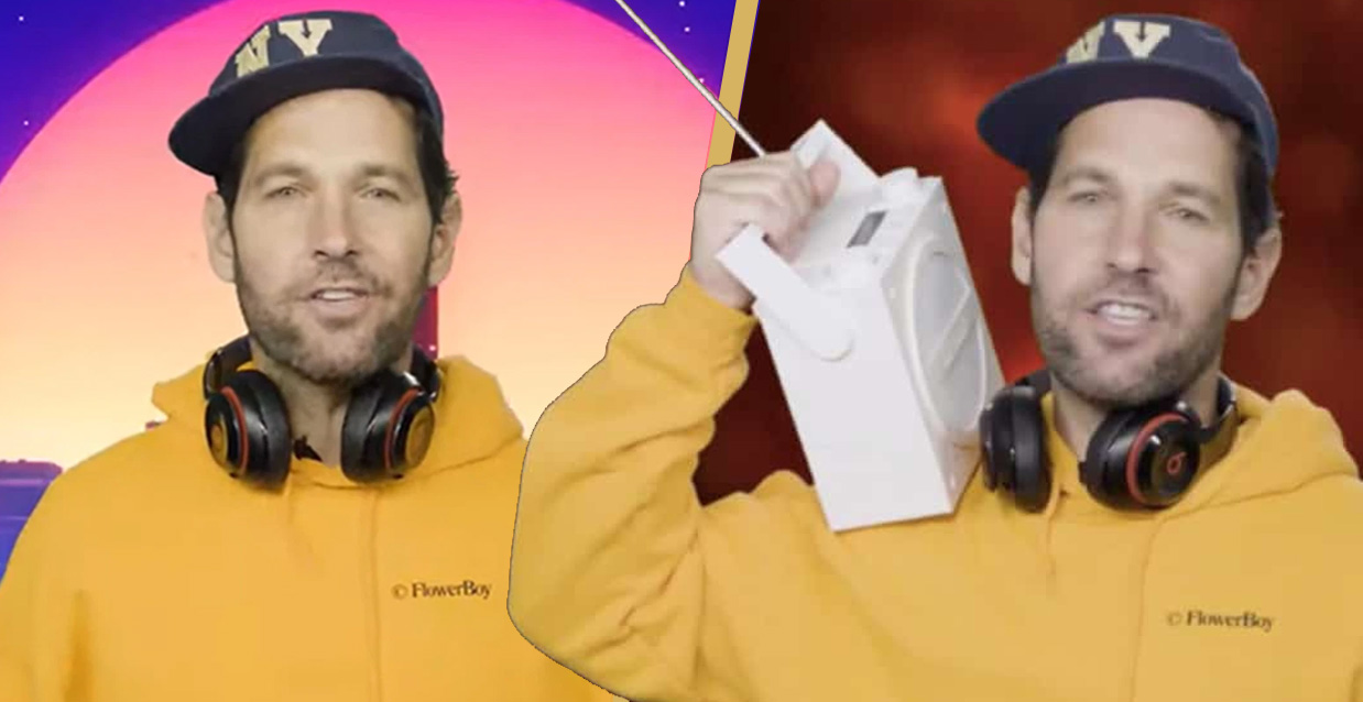 Paul Rudd Releases Hilarious PSA Asking Millennials To Wear Masks