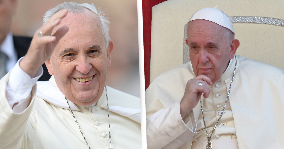 The Pope Says Having Sex And Eating Good Food Is 'Simply Divine'