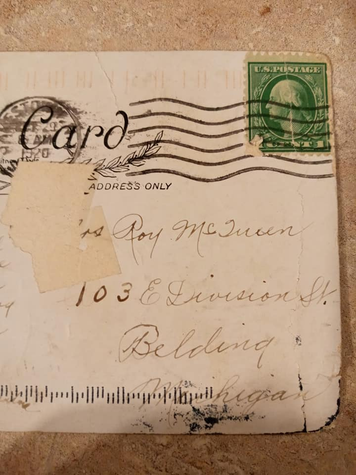 postcard 100 years old
